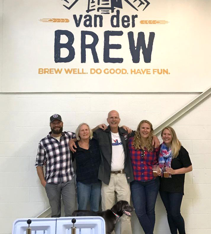 The van der Brew family